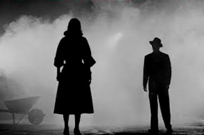 Noir Man Woman Shadow